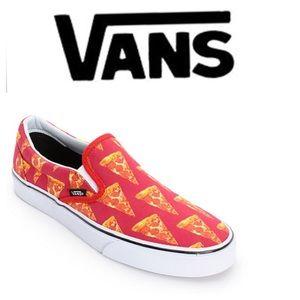 Vans Slip on Late Night Pizza Slip On Sneakers